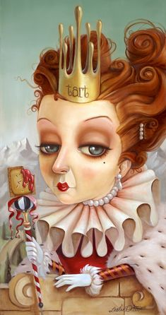 ☆ Queen Of Tarts :¦: By Artist Leslie Ditto ☆