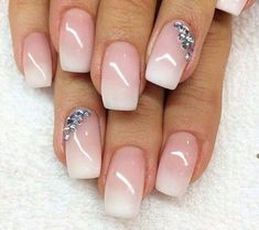 You can choose one unique pattern for your nail design, which can boost your strong personality at the same time.