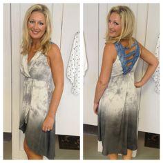 Rags to Riches Dress $49.50 PiaceBoutique.com