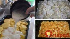 Stačí len nakrájať, zaliať a vložiť do rúry: Fantastické krémové zemiaky pripravíte len zo 4 prísad!