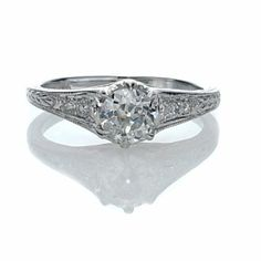 Leigh Jay Nacht Inc. - Replica Edwardian Engagement Ring - 3131-01