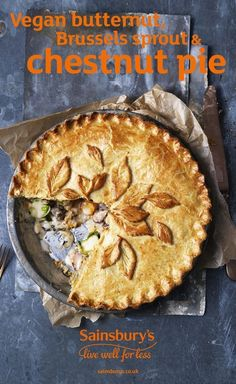 The ultimate vegan comfort food – from the flaky, buttery crust to the rich and creamy filling. This tasty recipe is the perfect vegan alternative for any Christmas menu.