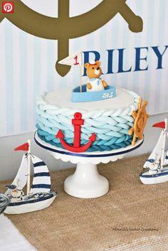 Festa de aniversário: Tema nautico
