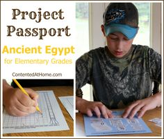 Project Passport: Ancient Egypt History for Elementary Grades