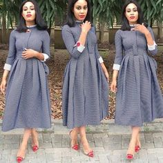 How to be chic to church Short African Dresses, African Fashion Dresses, Shweshwe Dresses, Church Fashion, Church Dresses, Church Outfits, African Traditional Dresses, African Attire, African Wear