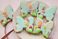 Individually wrapped, hand decorated Party Cookies. Give your guest's a gift to remember!