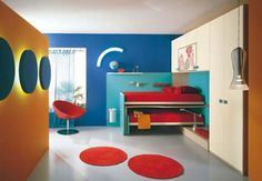 I like the idea of back-lighting the circles on the wall in Main room or perhaps even down the Main Kids Hallway...?