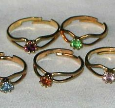 #The70s - \\We all had birthstone rings. I got mine on Christmas 1979.