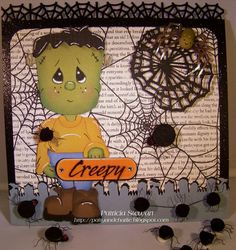 Creepy Ideas and Sample Pieces from Precious Piecings