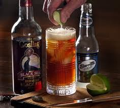 CLASSIC: Dark & Stormy #Gosling's Black Seal #Rum and #Barritt's Ginger Beer only