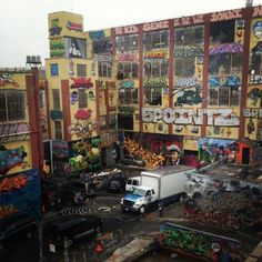The legendary 5Pointz - Long Island City