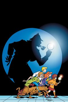 cartoons scooby doo Sherlock comics CHOP: Sherlock Holmes, a mystery machine Classic Cartoons, Cool Cartoons, Disney Cartoons, Watch Cartoons, Cute Wallpaper Backgrounds, Cute Wallpapers, Phone Backgrounds, Original Betty Boop, Sherlock Comic