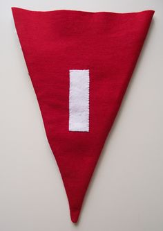 The 'I' in Diamond Jubilee - the back of Sami Teasdale's pennant