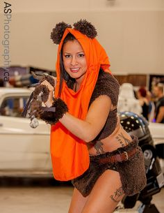 Ewok captured at NFCC Niagara Falls Comic Con 2013