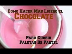 Cómo Hacer El Chocolate Más Ligero Para Cubrir Paletas (Cake Pops) - Madelin's Cakes - YouTube
