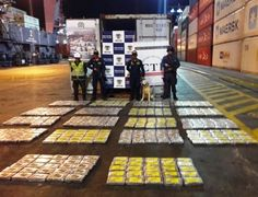 CTI incauta 453 kilos de clorhidrato de cocaína a bordo de barco en Santa Marta