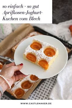 Summer Cake Recipes, Summer Cakes, Healthy Protein Breakfast, Apricot Cake, Sweet Bakery, No Cook Desserts, Breakfast Dessert, Food Cakes, Sweet Recipes