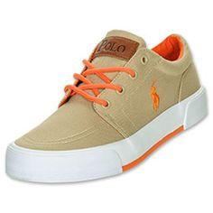 The Polo Ralph Lauren Faxon Low Kids' Casual Shoes have a minimalistic yet versatile style. Built to coordinate easily with anything in his closet, these shoes can be dressed up or dressed down. A sleek canvas upper has a slight retro feel, but t Kids Fashion Boy, Trendy Fashion, Mens Fashion, Polo Shoes, Minimalist Shoes, Summer Boy, Kids Boys, Designer Shoes, Me Too Shoes