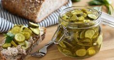 Refrigerator Bread and Butter Pickles