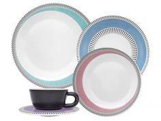 Aparelho de Jantar Moon Candy Dots 30 Peças - em Porcelana - Oxford