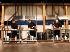 Chopped Judges Take Over the Kitchen in After-Hours Competitions