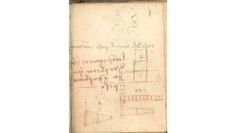 """Never assume that Leonardo Da Vinci's doodles are meaningless. That, at least, is the takeaway of a new study out of the University of Cambridge, which shows that a page of Leonardo's scribbled notes from 1493—previously dismissed as """"irrelevant"""" by art historians—is actually the first written demonstration of the laws of friction."""