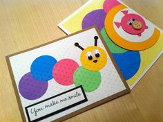 """Just a couple of critter cards. Hand made cards by """"Krysp"""" Paper Creations."""