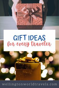 Top 7 Travel Gift Ideas For Every Traveler – Wellington World Travels