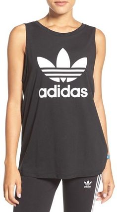 Women's Adidas Originals Trefoil Logo Relaxed Fit Tank *affiliate link*