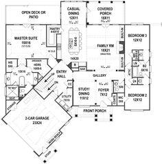 Clarita Place House Plan - Best Selling Floor - House Plan - Clarita Place   First Floor Plan
