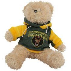 Baylor Bears 8'' Plush Hoodie Bear $9.95
