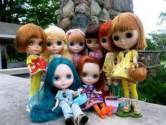 Front- Darragh, Ireland. Back- Maeve, Patience, Juno, Aislinn, Shannon, Aimi | Flickr - Photo Sharing!