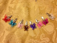 Butterfly Hair Clips! http://www.vipcreationstation.etsy.com/