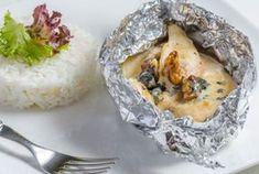 Papillote de poulet à la moutarde WW, recette d'un bon plat cuit au four, facile et très léger, parfait à réaliser pour un repas du soir.