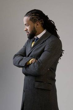 nebula of sophisticated locs | loc style for men
