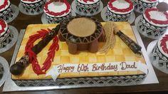 #Samoan birthday cake #Tanoa, #Fue #Ula#Fala, #Tatau