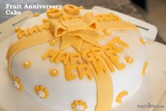 Light Fruit Anniversary Cake  The golden anniversary is one of the most celebrated wedding anniversaries. And rightly so! 50 years is a long time to be married  and my lovely in-laws had their 50th Wedding Anniversary last month. As we had a little  Read More  (Read more...)  Categories:  Cakes  Fondant Cakes  Recipe  Tags: 50th Anniversary cakeLight Fruit CakeLight Fruit Cake Reciperecipe  Cakes Fondant Cakes Recipe 50th Anniversary cake Light Fruit Cake Light Fruit Cake Recipe recipe