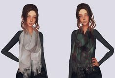 Winter Scarf for The Sims 4