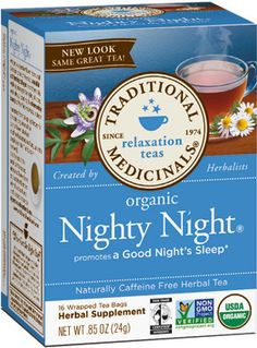 Nighty Night Tea #HerbalTea #VitaminWorld