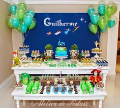 festa do peter pan infantil - Pesquisa Google