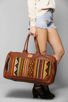 Wanderlust: 22 Killer Boho Weekender Bags via Brit + Co