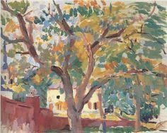 The Old Walnut Tree in Malines - Rik Wouters  Belgian 1882-1916