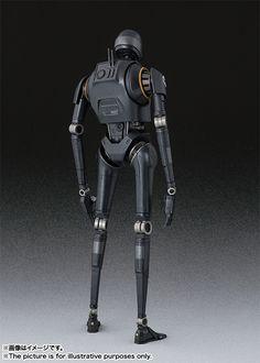 Directamente de la futura película Rogue One: A Star Wars Story , Bandai nos trae la S.H.Figuarts del droide K-2 SO . S.H.Figuarts K-2...