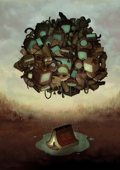 Ilustración animada de Maria Tiurina I Cóctel Demente