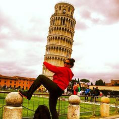 How will you pose with the Leaning Tower of Pisa??