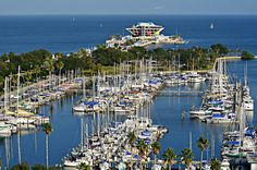 Glorious Downtown St.Petersburg, Florida at the Pier.  The Bay!!!