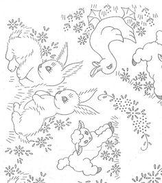 bunny/lamb/duck