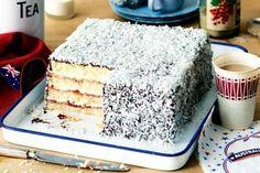 Apple cinnamon custard cake recipe Baking Recipes, Cake Recipes, Dessert Recipes, Desserts, Dessert Ideas, Cake Ideas, Coconut Icing, Square Cake Pans, Custard Cake