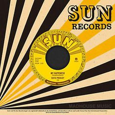 """Elvis Presley - My Happiness / That's When Your Heartaches Begin on 7"""" Vinyl"""