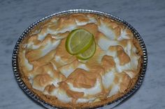 """My """"perfect"""" lime pie."""